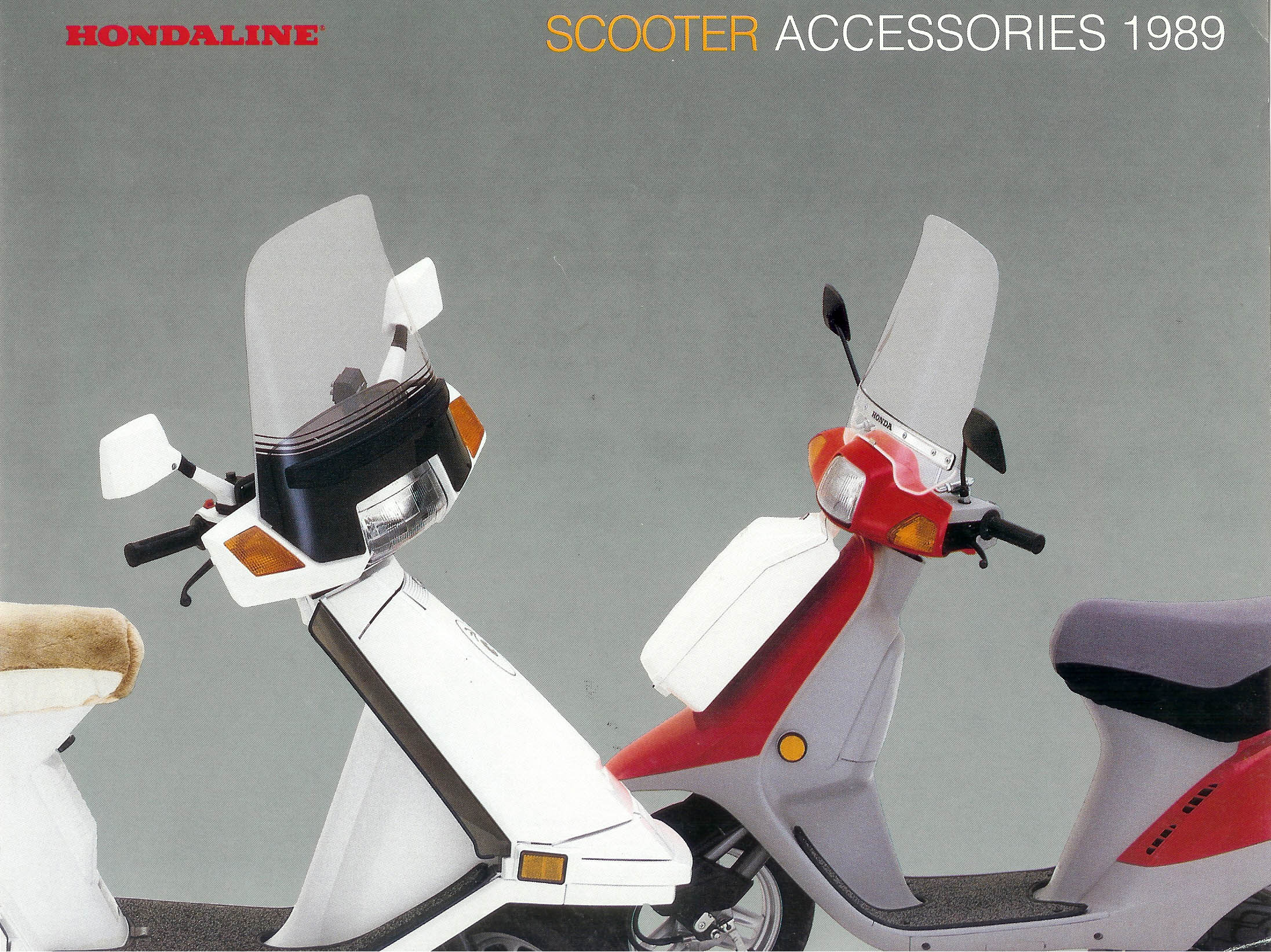 General Honda Scooter Information 89 Elite Wiring 1989 Accessories Page 1 Full Size