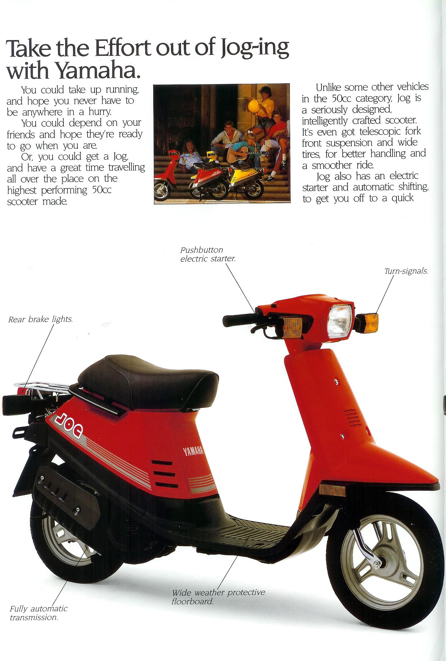General Yamaha Scooter Information Qt 50 Wiring Diagram Full Size
