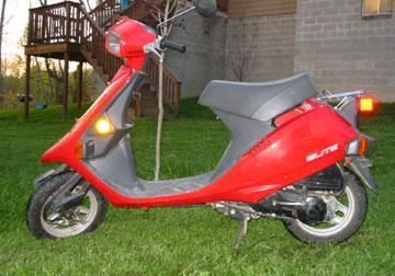 Honda Urban Express >> Scooter Models in the United States