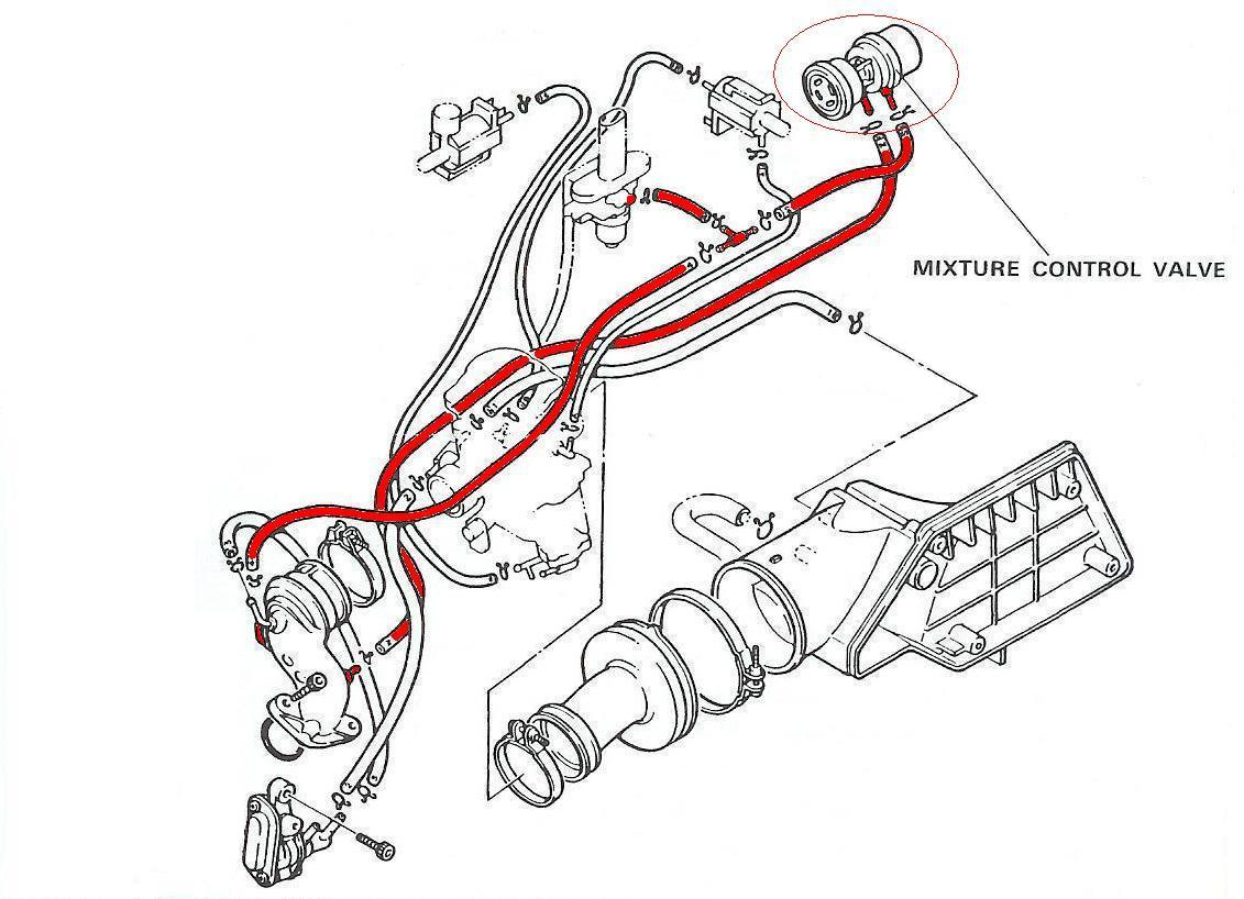 MCV hose routing diagram.